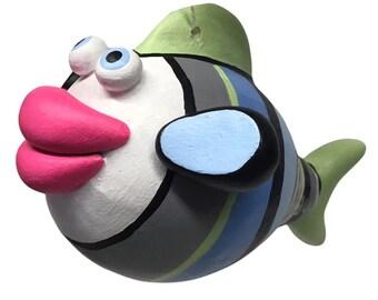 White Face Kissy Fish