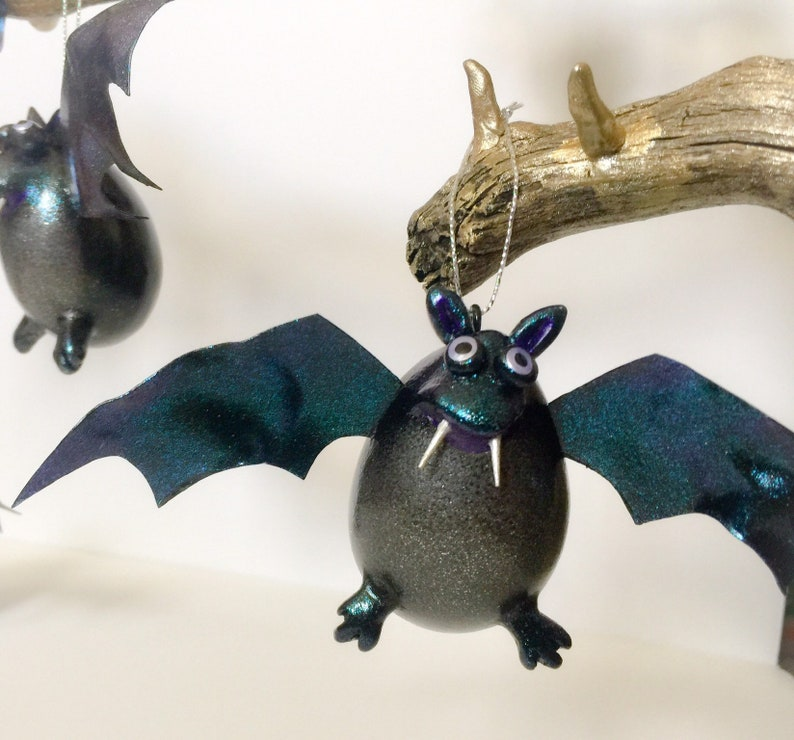 Vampire Bat Halloween Ornament image 0