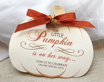 Fall baby shower invitations etsy our little pumpkin invitation fall baby shower invitation autumn shower invitations pumpkin baby shower invite rustic baby shower invite filmwisefo