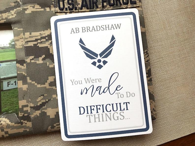 American Airman card Air Force Plane Card Military Card BMT Card Basic Training Card Proud Air Force Mom Card 30# Air Force Card
