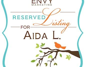 DIGITAL FILE... Reserved for Aida L., Spring Love Birds Invitation, Custom Quinceañera Invitation