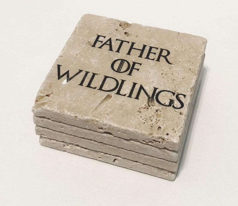 Father of Wildlings Game Of Thrones GOT Natural Stone image 0