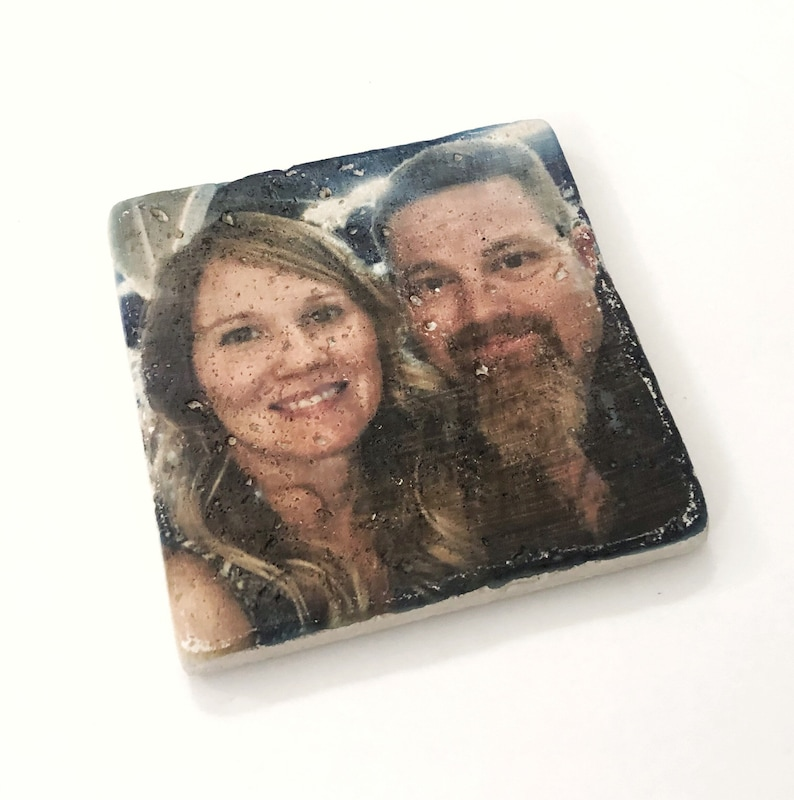 1 Single Custom Coaster with Your Personalized Photo Coaster image 0