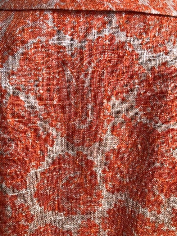 Sixties Mod Sara's Pristine Pant Suit in Orange L… - image 4