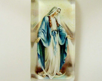 Miraculous medal pendant with chain - GP12-304