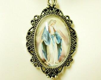 Miraculous medal necklace - AP04-409