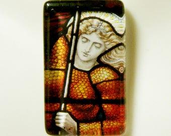 Saint Joan of Arc pendant with chain - GP09-218