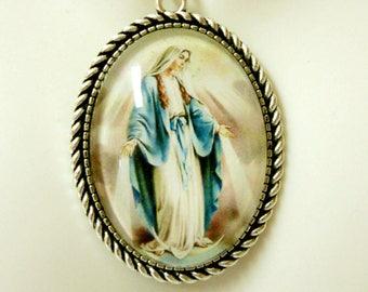 Miraculous Medal necklace - AP09-172