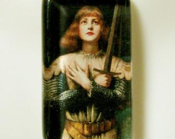 Saint Joan of Arc pendant with chain - GP09-232