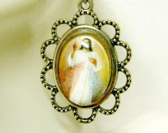 Divine Mercy earrings - AP07-11