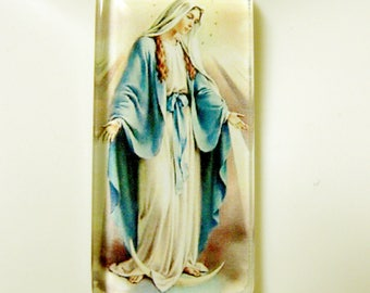 Miraculous medal pendant with chain - GP01-229