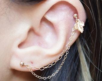 2 Piercings Earrings
