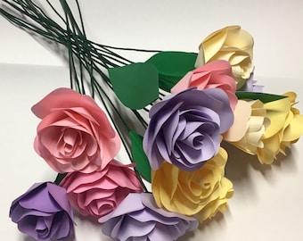 paper flower bouquet, paper bouquet,bells of ireland, paper foliage, wedding bouquet, paper flower arrangement, bridesmaid bouquet