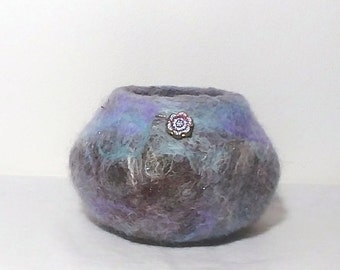 Felted Container/Bowl