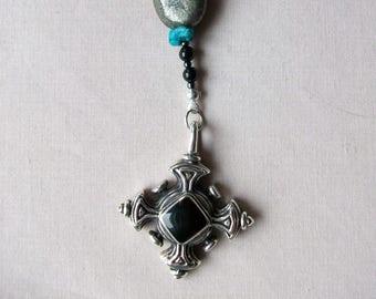 Native American jewelry authentic Indian handmade  wampum pirate rosary