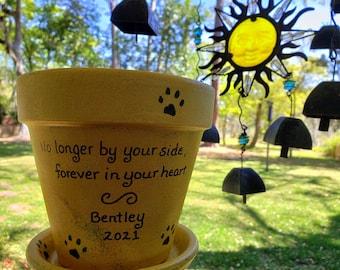 Garden Memorial for Pet - Pet Memorial Planter - Pet Sympathy Gift - Pet Loss Gift - Dog Memorial - Cat Memorial