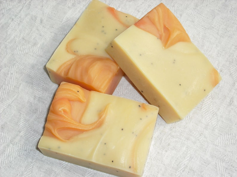 Tangerine Clove Soap / Essential Oil Soap / Autumn Scent / image 0