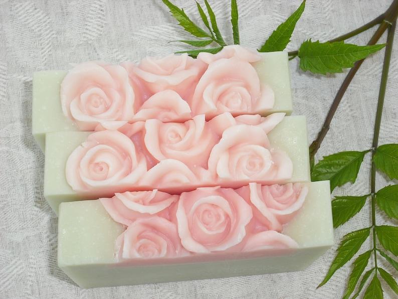 Julia's Garden Soap / Citrus Floral Scent / Feminine Soap image 0