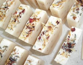 Bulk Soap Wedding Soap Favors Bridal Shower Baby Shower Favors Floral favors Cold Process Soap Handmade Soap
