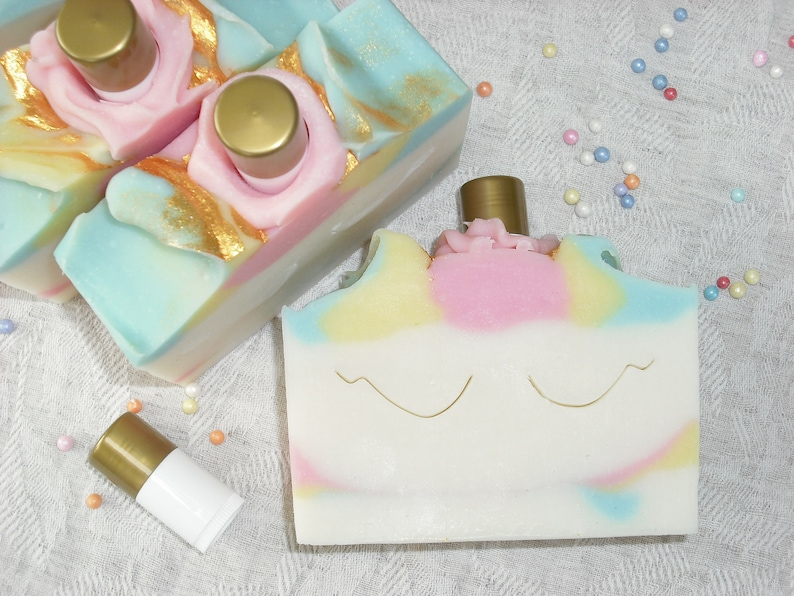 Unicorn Soap Unicorn Gift Set Gift for Girls / Birthday image 0