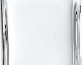 New Refillable Perfume Spray Empty Glass Bottle Atomizer Flat/Rectangular Bottle 1 oz