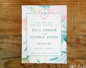 100 Fleur De Lis Save The Date Cards Fun Festive Regal Etsy