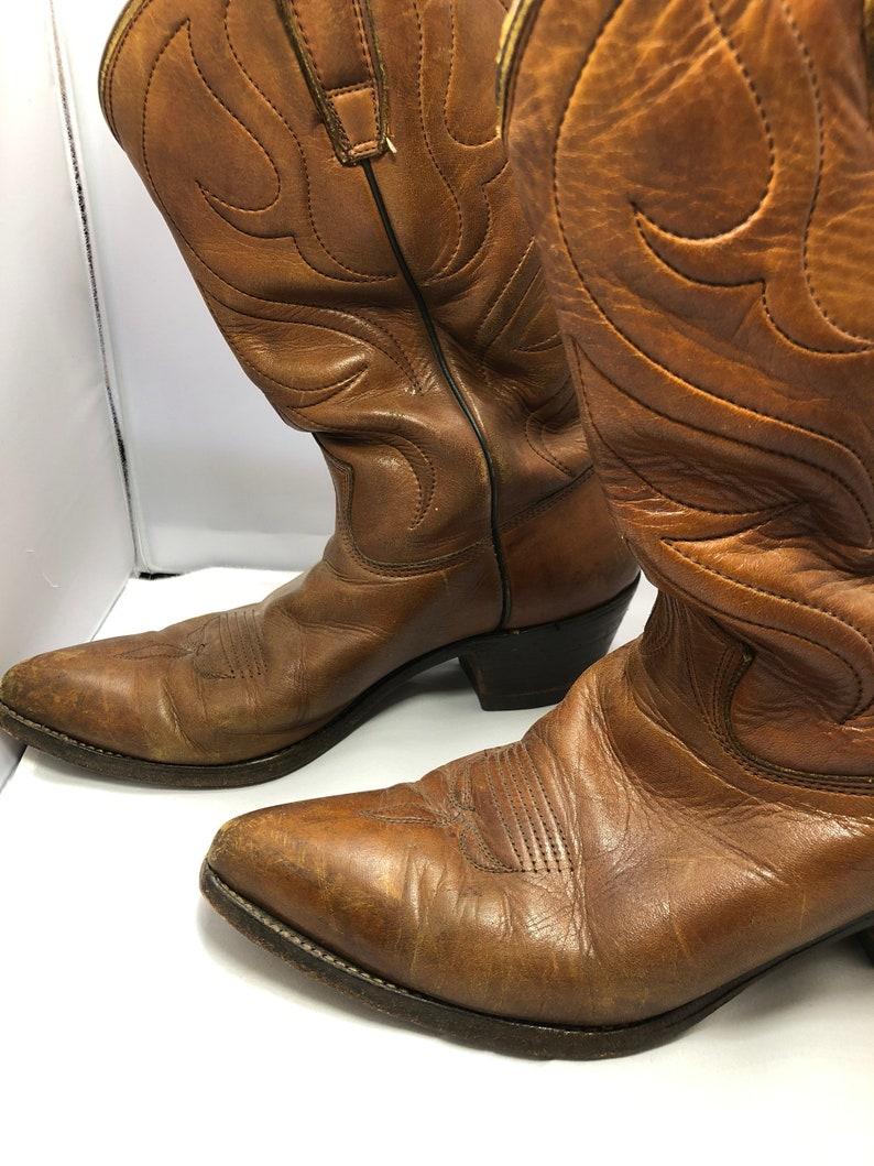 dfb4dadbbadb4 Vintage handmade mens cowboys boots
