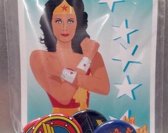 Wonder Woman Button Pack