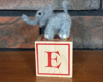 Alphabet Pets E is for Elephant