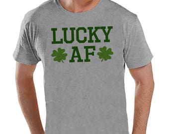My Lucky Charm Arrow Pointing Down St Patrick/'s Day Men/'s Tee Shirt 1052
