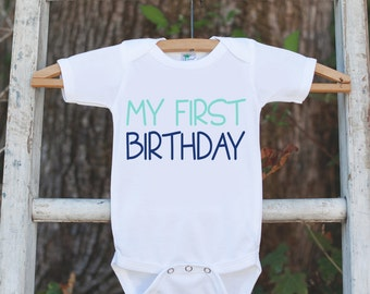 Boys My First Birthday Outfit