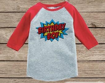 Kids Birthday Shirt Its My Boy Or