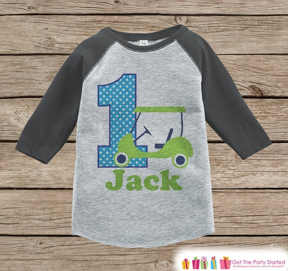 First Birthday Golf Outfit Boys 1st T Shirt