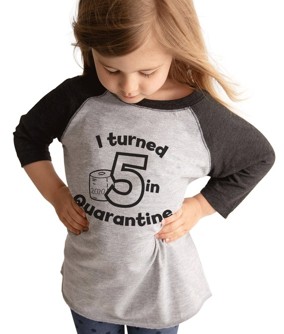 7 ate 9 Apparel Kids Funny Quarantine Outfit