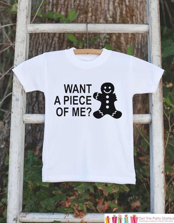 9f6ddf8d Kids Christmas Shirts - Funny Gingerbread Man Shirt - Girl or Boys Funny  Christmas Onepiece or Shirt - Christmas Pajamas - Sibling Shirts