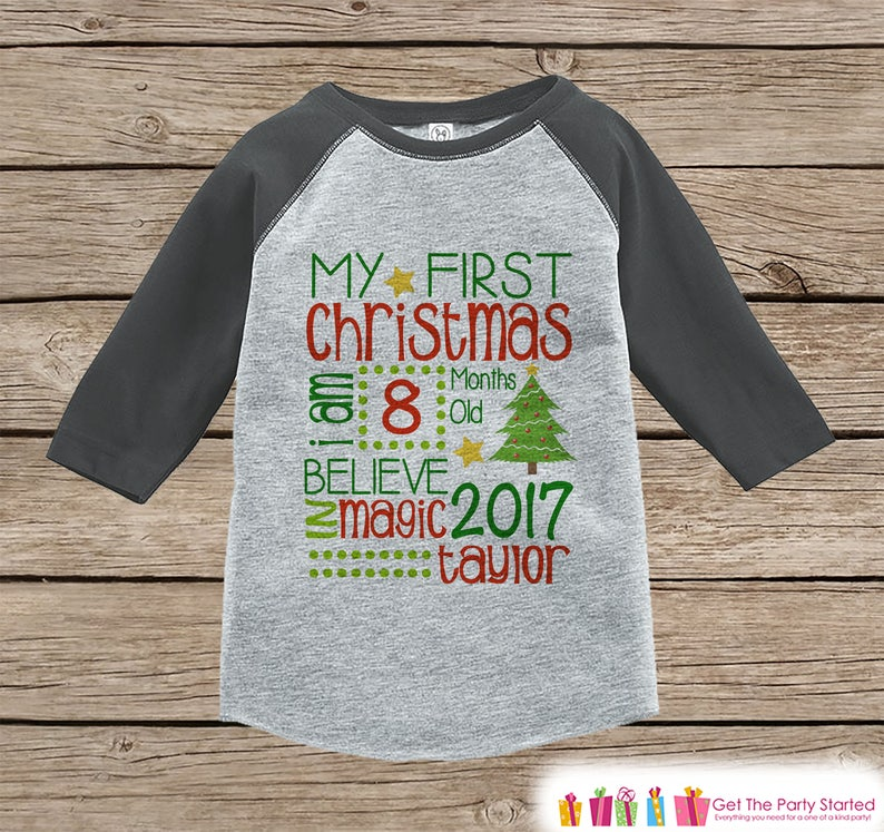d148c165d First Christmas Outfit Boy or Girl Christmas Shirt 1st | Etsy