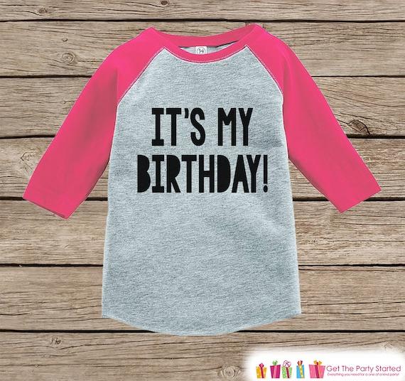 Kids Birthday Shirt