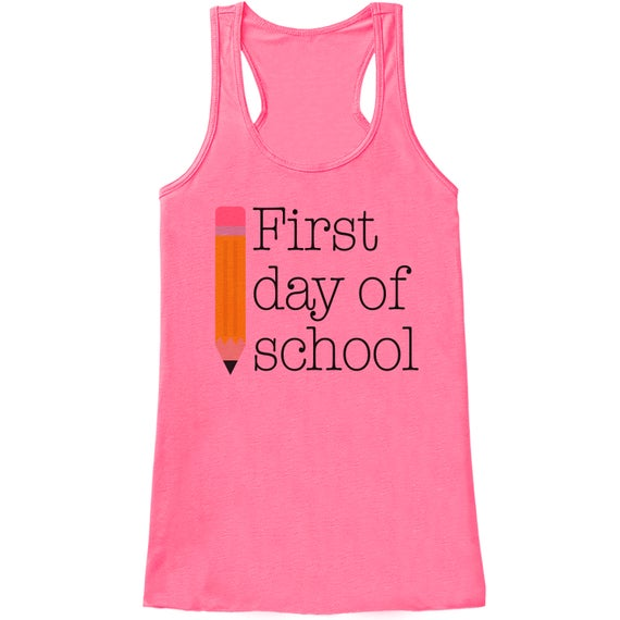 Funny Teacher Shirt - First Day of School Shirt - Teacher
