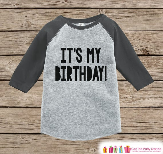 Kids Birthday Shirt