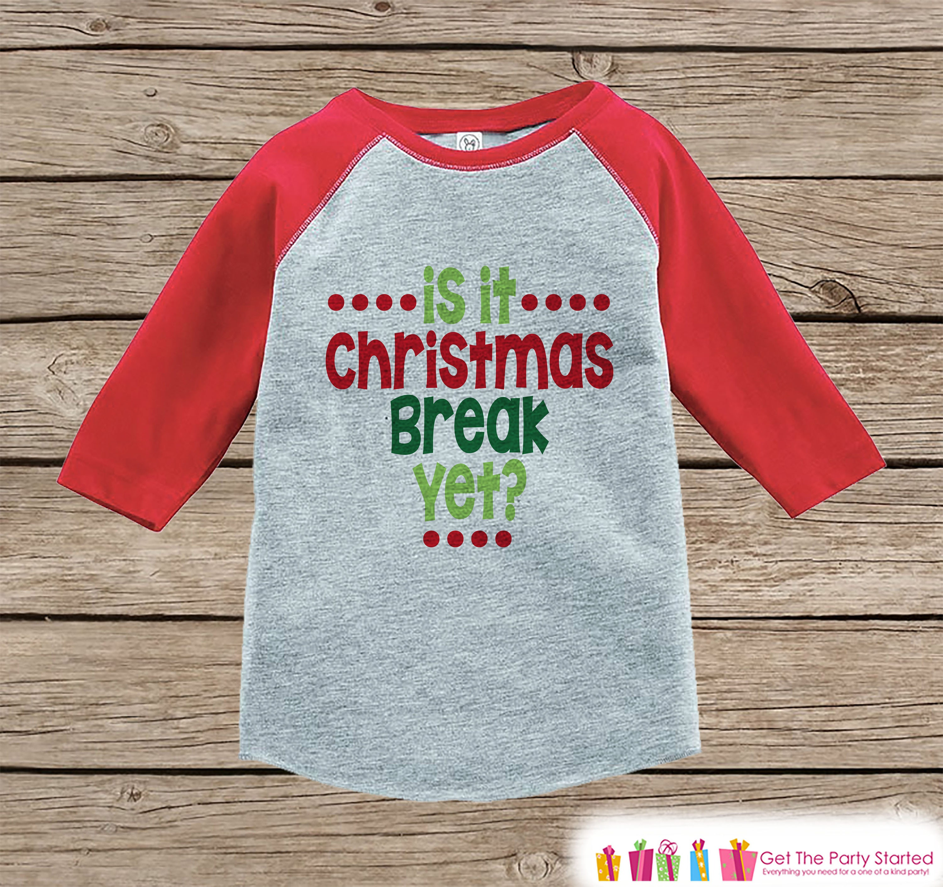 Kids Christmas Shirts Funny Christmas Break Outfit Sibling   Etsy
