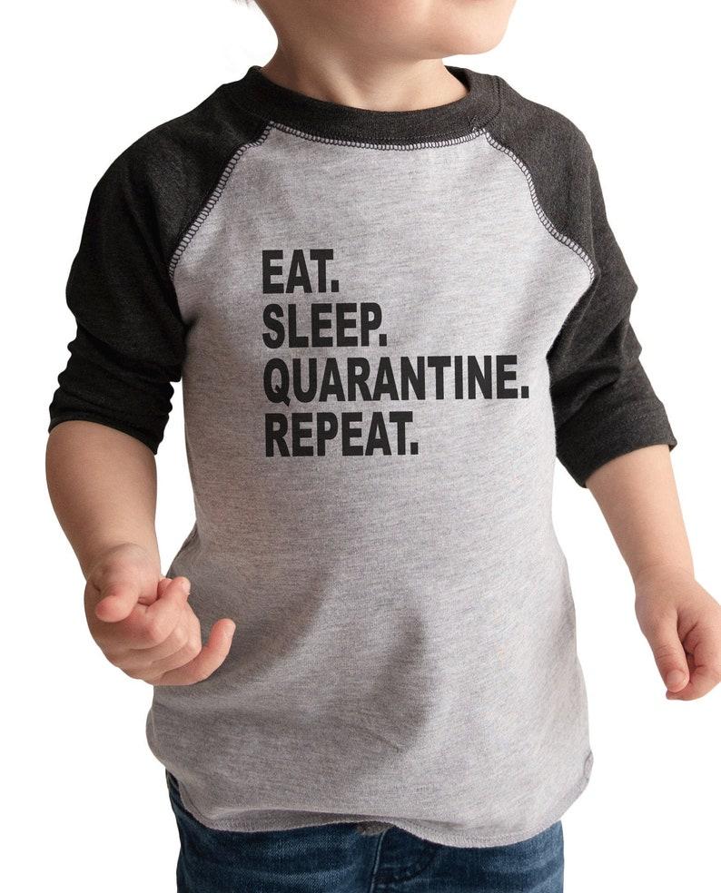 7 ate 9 Apparel Kids Eight Birthday Quarantine Shirt