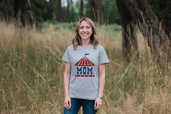 Mom Circus Shirt
