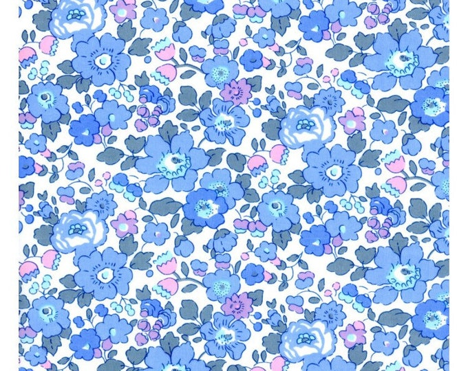 LIBERTY ROSA BLOOMERS / Diaper cover / Nappy cover Constructed from Liberty Art Cotton Tana Lawn Betsy -light blue