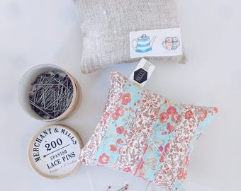 PETITE PINCUSHION Liberty Lawn