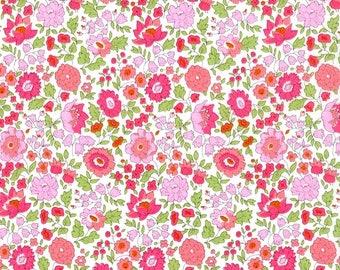 LIBERTY RUFFLE Collar    Liberty Fabric D'Anjo (pink)