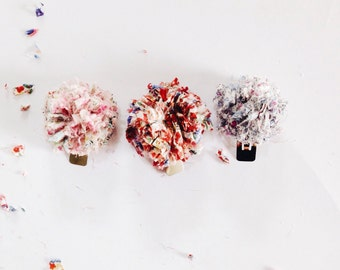 POMPOM LIBERTY CLIPS girls hair accessories