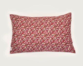 Single LUXE LIBERTY PILLOWCASE // Made with Liberty Fabrics Tana Lawn// Liberty print Primrose Path A // Standard Size
