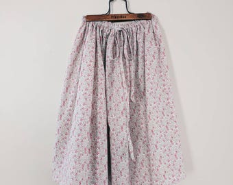 LIBERTY MAXI SKIRT girl's long skirt constructed in Liberty tana lawn in Wiltshire D