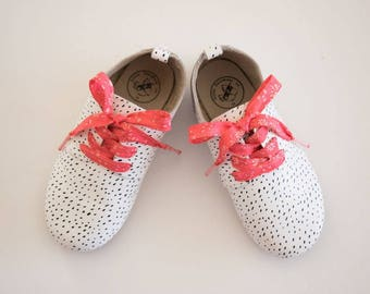 LIBERTY PRINT SHOELACES in adult and children's sizes - Capel A (watermelon)