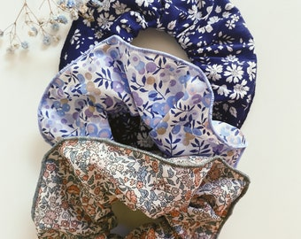 SCRUNCHIE SET OF 3 // made with Liberty Fabric Tana Lawn// hair accessories // Capel, Wiltshire, Ava